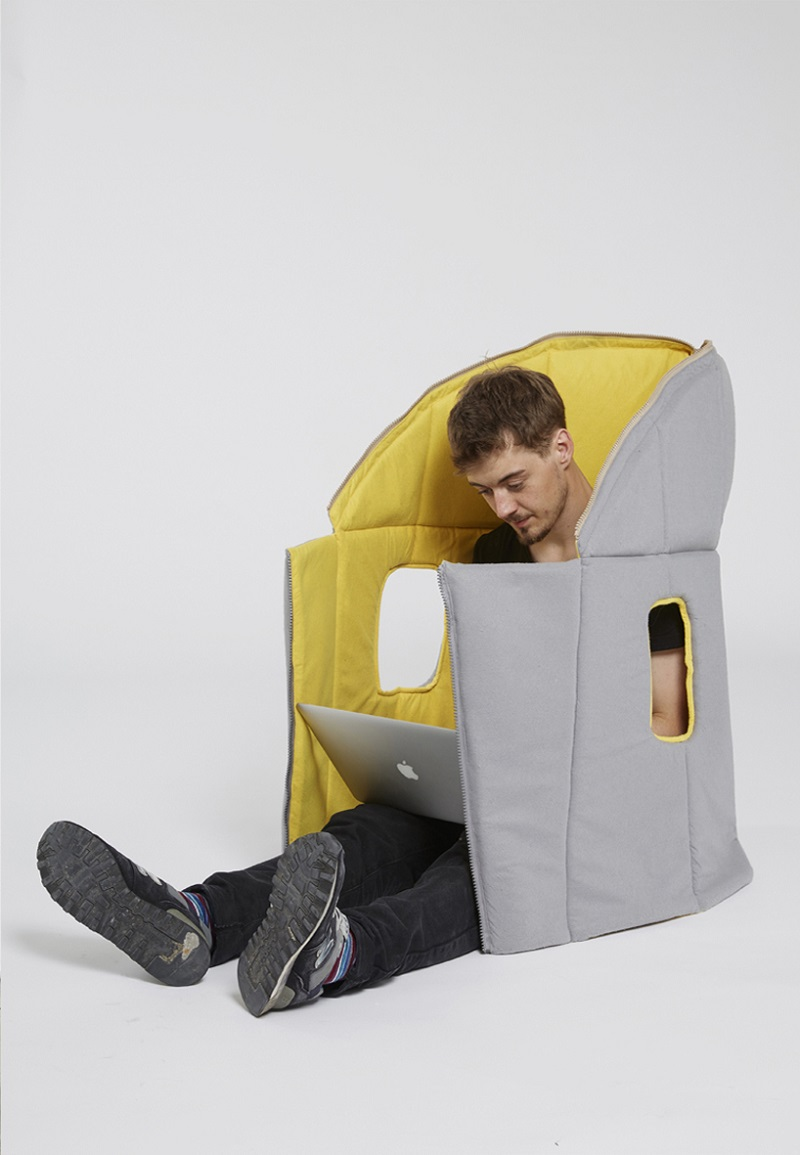 Sharkman Gives You Comfy and Flexible Private Space (5)