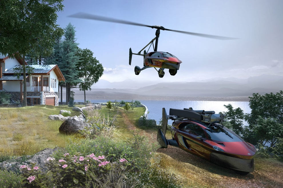 World's First Flying Car is Available For Pre-order (1)