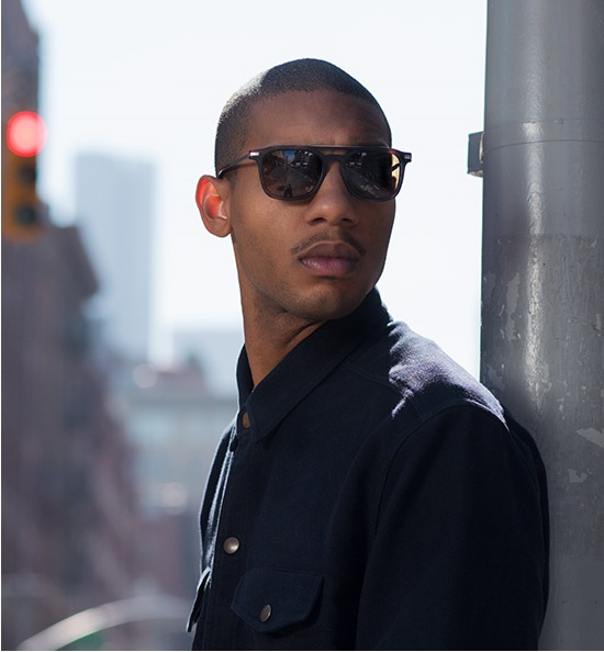 Man Wearing Raen Kettner Sunglasses