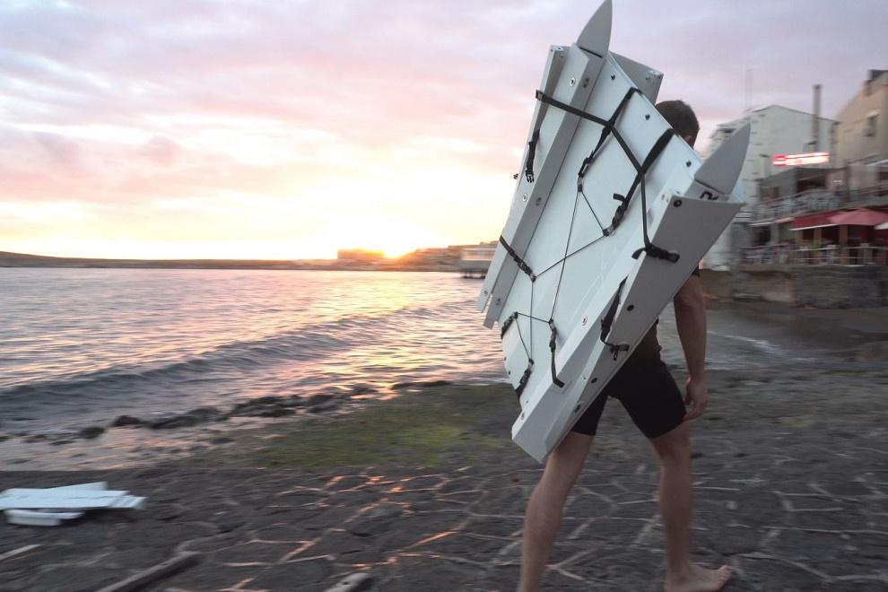 Foldable Kayak HYPAR (1)