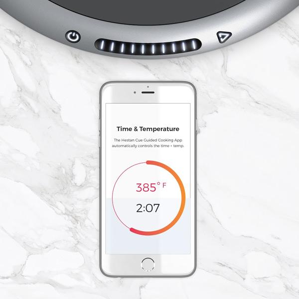 set the temperature through app