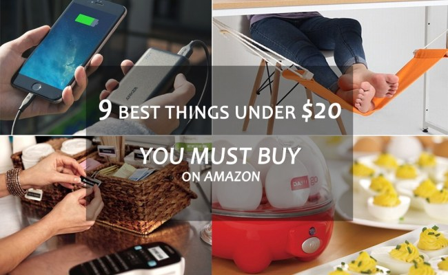 9 Best Things Under 20 You Must Buy On Amazon Right Now