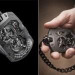 Expensive URWERK UR-1001 TITAN Pocket Watch (4)
