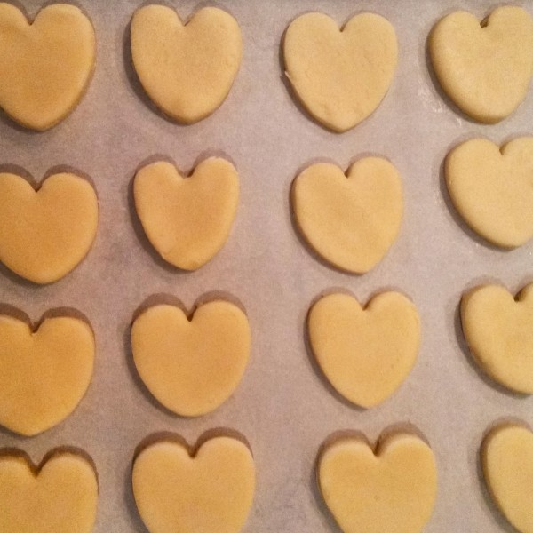heart shaped napolitaines