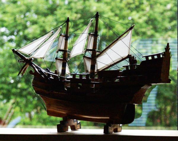Ship Model / Maquette de Bateau