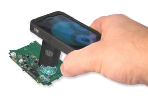 Zakmicroscoop voor iPhone