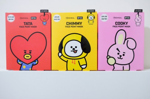 Mediheal x BT21 Face Point Mask 重點面膜 TATA&CHIMMY&COOKY