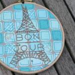 Bonjour Quilts - Embroidery Tutorial