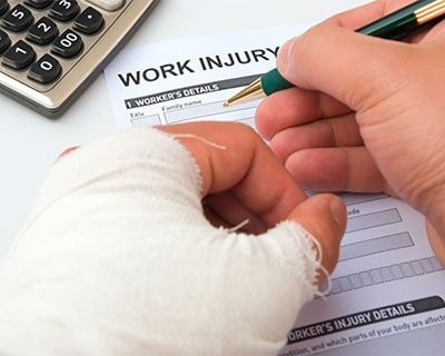 workplace injury claim