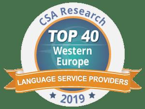 Cabinet Bonnefous et le Groupe Tradutec dans le TOP 40 européen des sociétés de traduction