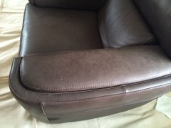 leather clean before