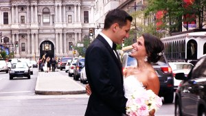 Ilene and Brian near Philadelphia City Hall