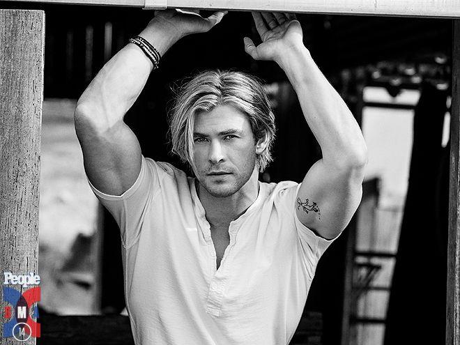 Hemsworth = Sexiest Man Alive: Um Duh.