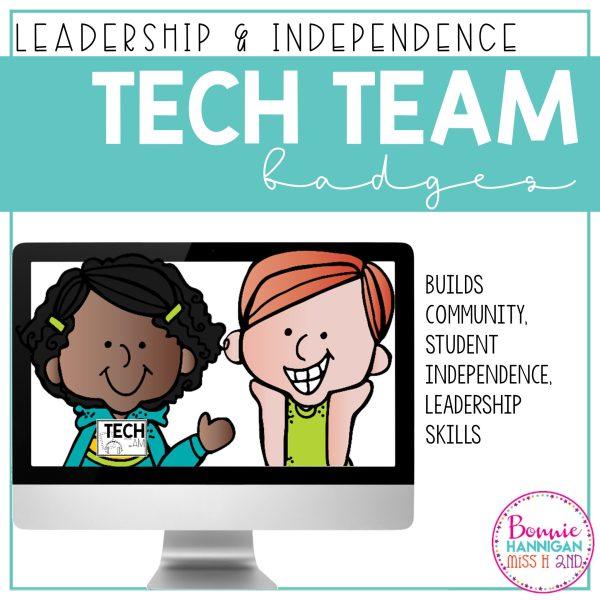 Student Tech Team Badges