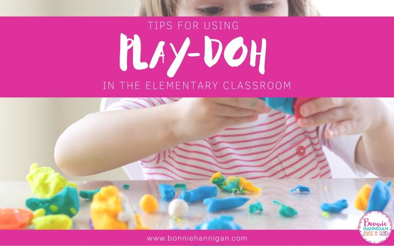 Using Play-doh in the classroom