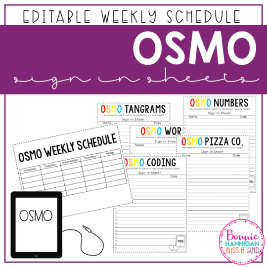 Osmo Sign-In Sheets Image