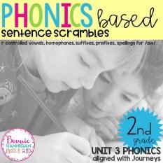 Unit 3 Sentence Scrambles