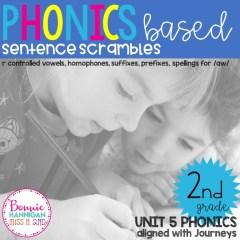Unit 5 Sentence Scrambles