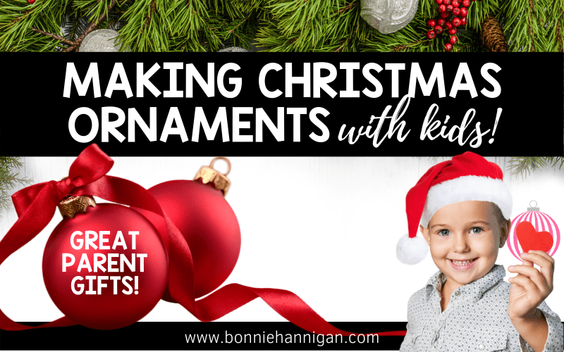 Making Christmas Ornaments with Kids
