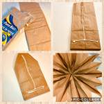 Paper Bag Stars Collage