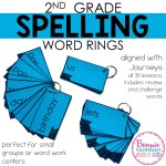 Year Long Spelling Word Rings