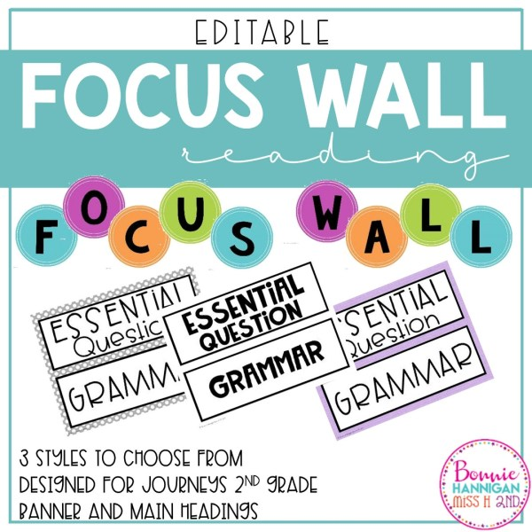 Focus Wall Banner and Headings
