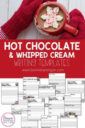 How To Writing with Hot Chocolate and Whipped Cream