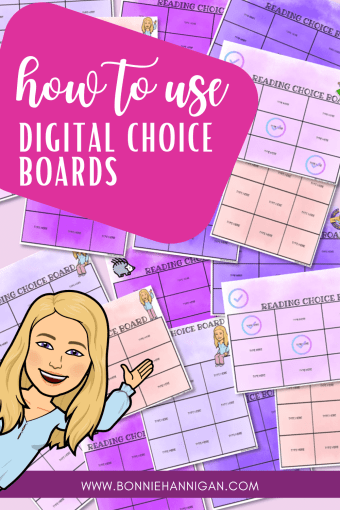 How to Use Digital Choice Boards