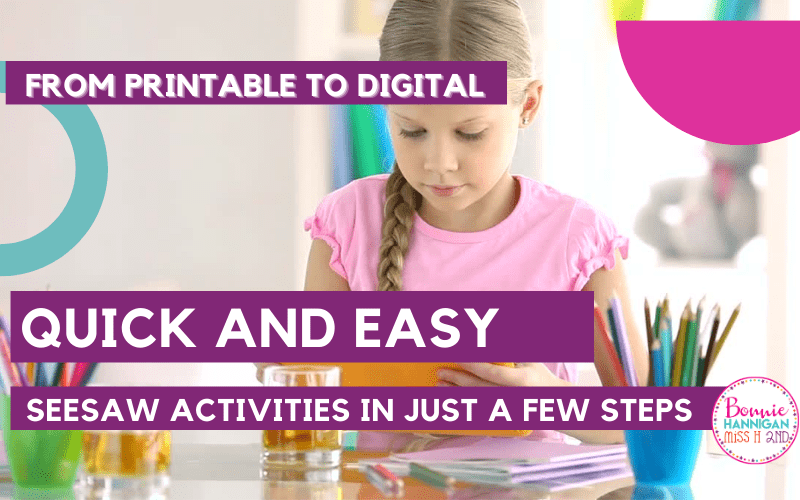 Creating Digital Activities from Printables