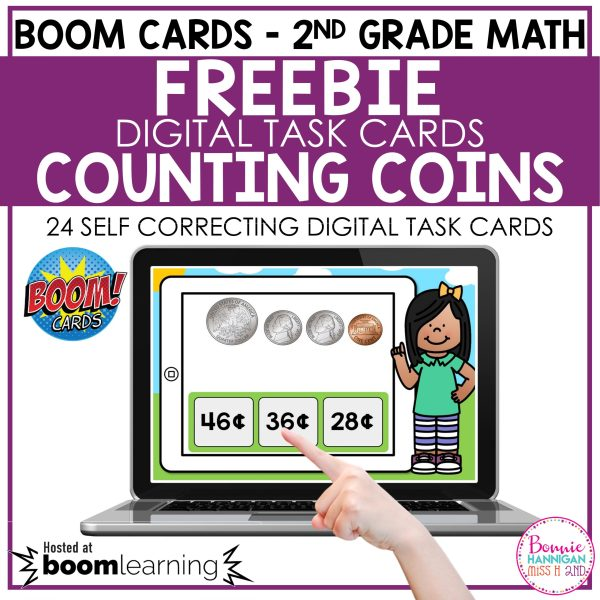 Boom Cards™ Counting Coins