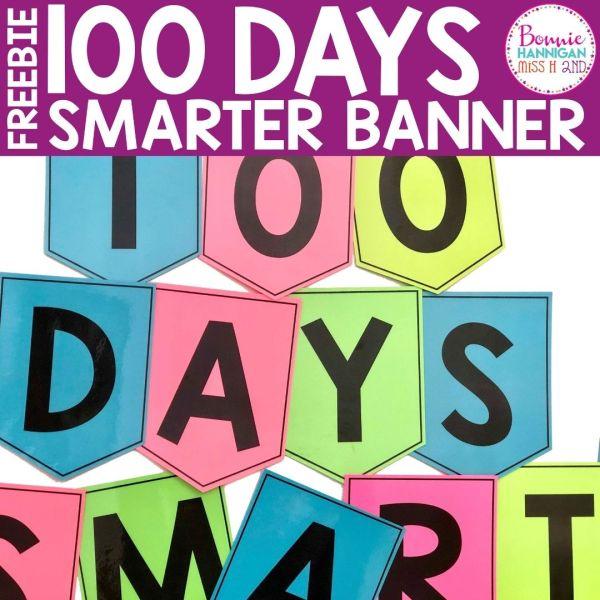 Freebie 100 Days Smarter Banner