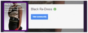 black redress google group