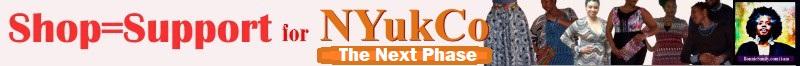 Shopping supports Nyukco