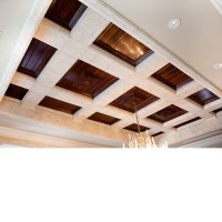 Coffered Wood Ceiling  Blog Avie