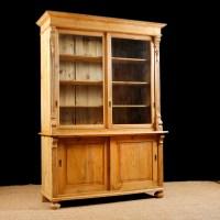 Antique Bookcase Glass Doors | Antique Furniture