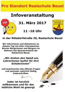 """""""Pro Standort Realschule Beuel"""" lädt zu einer Informationsveranstaltung ein"""