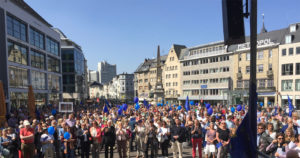 Pulsschlag für Europa! #pulseofeurope_bonn #pulseofeurope
