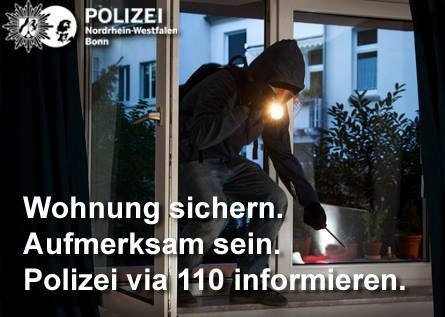 Bonn-Poppelsdorf: Sechs Einbruchsversuche in der Blücherstraße – Unbekannte scheiterten