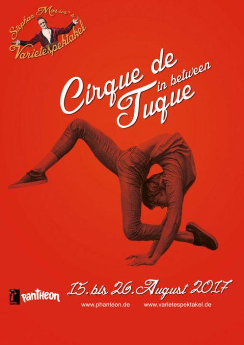 Varietéspektakel Cirque de Tuque2 - in between im Pantheon Theater Bonn