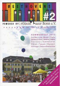 Beethovens Bunte - Schwul-Lesbisches Sommerfest in Bonn