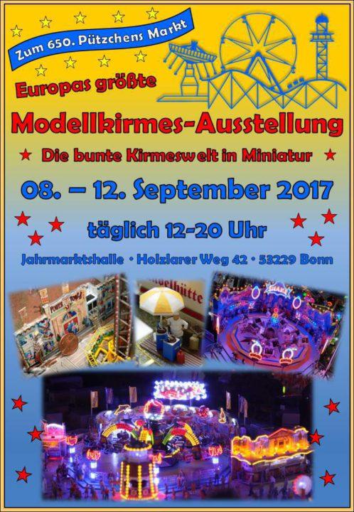 Europas größteModellkirmes Ausstellung zu Pützchens Markt - Die bunte Kirmeswelt in Miniatur