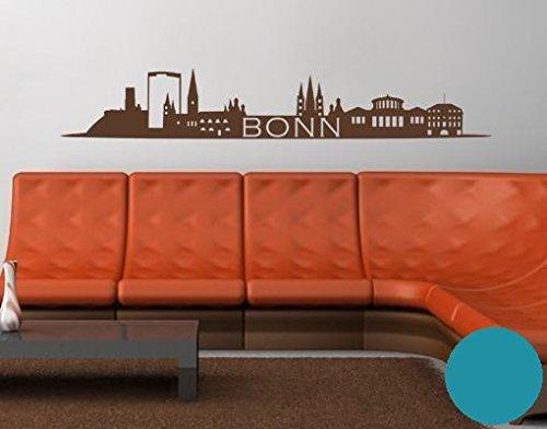 Wandtattoo Skyline Bonn