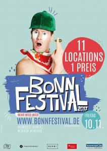 1. Bonn Festival präsentiert von bonn.pop e.V.