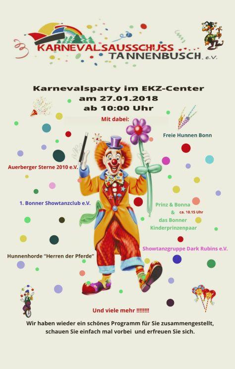Karnevalsparty im EKZ Bonn Tannenbusch