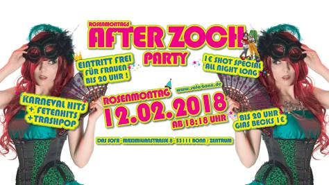 After Zoch Party | Das Sofa