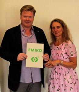 Christoph Timmerarens und Dr. Christine Lötters