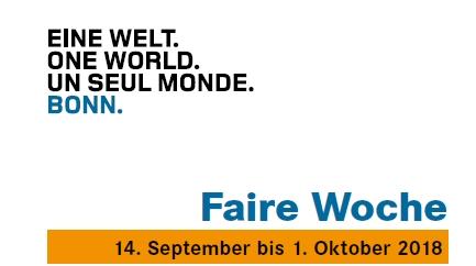 Von Stadtrundgang bis faires Frühstück: Programmheft zur Fairen Woche 2018 bündelt alle Veranstaltungen in Bonn