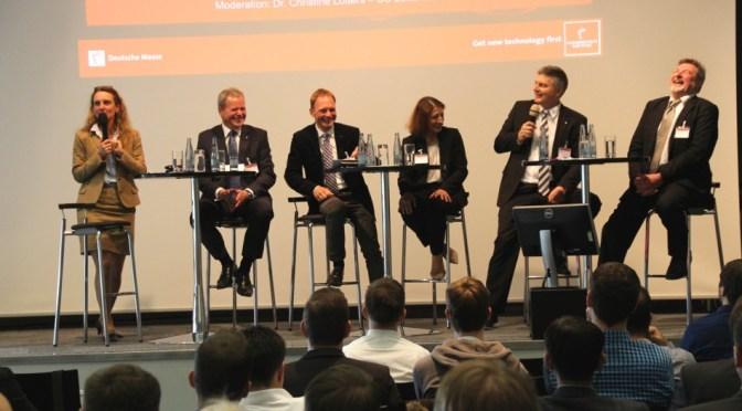 Podiumsdiskussion zur 11. Internationalen MES-Tagung in Hannover hochkarätig besetzt