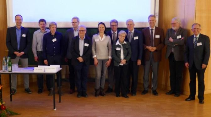 Referenten und Aktive beim 12. Jahrestreffen