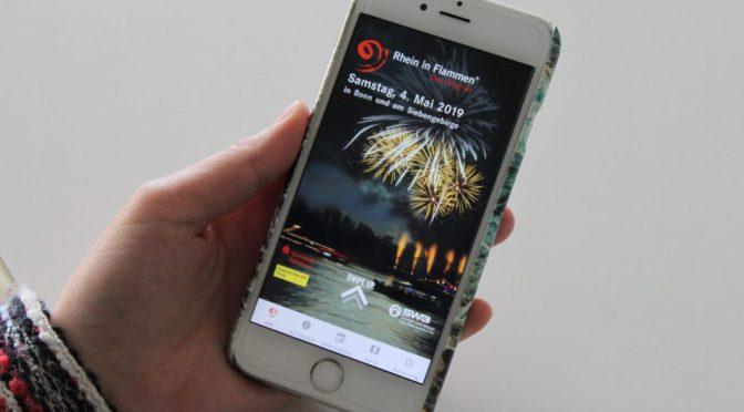 Eine App für Rhein in Flammen ? mit Bühnenprogramm und mehr Infos